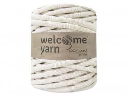 Grande bobine de fil trapilho - Blanc cassé Welcome Yarn - 1