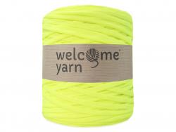 Grande bobine de fil trapilho - jaune fluo Welcome Yarn - 1