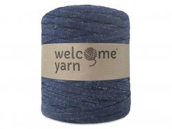 Grande bobine de fil trapilho - jean denim Welcome Yarn - 1