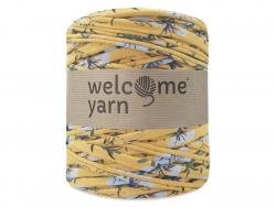 Grande bobine de fil trapilho - motifs jaunes Welcome Yarn - 1