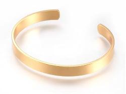 Acheter Bracelet manchette laiton doré - 10 mm - 5,49€ en ligne sur La Petite Epicerie - Loisirs créatifs