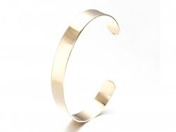 Acheter Bracelet manchette laiton doré - 10 mm - 5,49€ en ligne sur La Petite Epicerie - 100% Loisirs créatifs
