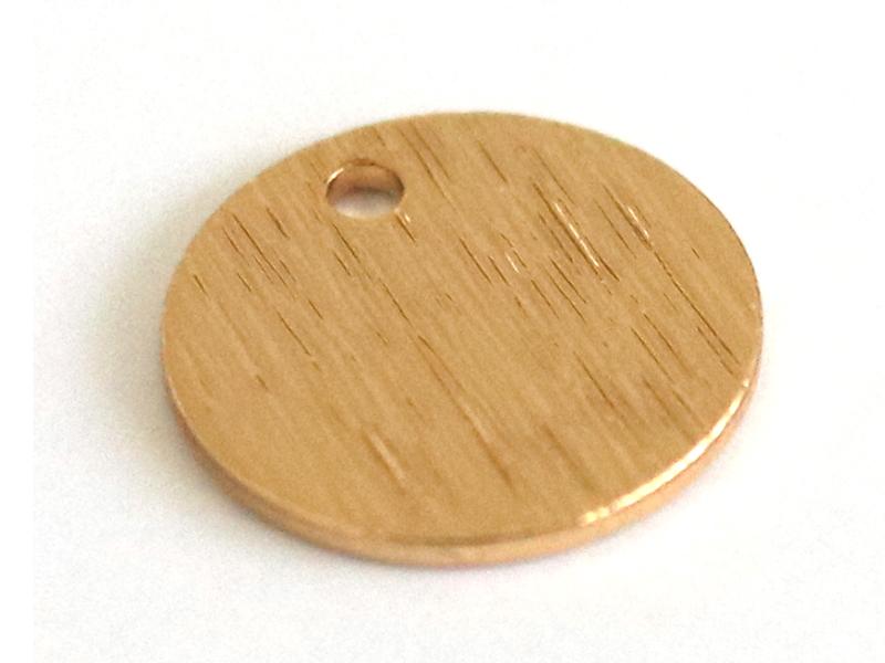 Acheter Pendentif sequin 9mm - doré à l'or fin 18K - 0,49€ en ligne sur La Petite Epicerie - 100% Loisirs créatifs