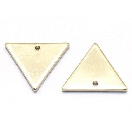 Acheter Pendentif triangle - doré à l'or fin 18K - 0,69€ en ligne sur La Petite Epicerie - 100% Loisirs créatifs