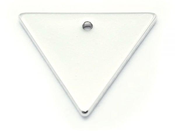 Acheter Pendentif triangle - plaqué argent 925 - 0,69€ en ligne sur La Petite Epicerie - Loisirs créatifs