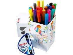Acheter Colour Happy Basic Box Edding - 20 feutres et 1 mélangeur - 23,99€ en ligne sur La Petite Epicerie - 100% Loisirs cr...