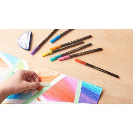 Acheter Colour Happy Basic Box Edding - 20 feutres et 1 mélangeur - 21,40€ en ligne sur La Petite Epicerie - Loisirs créatifs