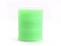 Petite boîte de slime - vert fluo  - 1