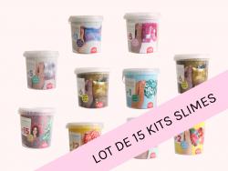 Le pack de 15 kits Slime à collectionner de La Petite Epicerie