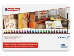 Acheter Boîte de 40 feutres Edding pour écrire ou peindre - 34,89€ en ligne sur La Petite Epicerie - 100% Loisirs créatifs