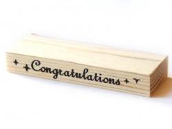 Tampon bordures - Congratulations