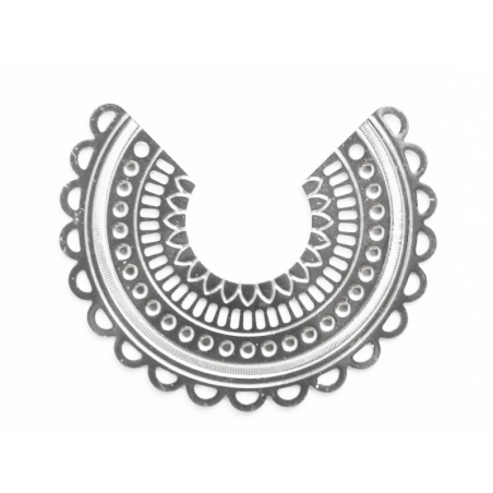 Acheter Pendentif INES - plaqué argent 925 - 1,99€ en ligne sur La Petite Epicerie - Loisirs créatifs