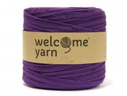 Grande bobine de fil trapilho - violet Welcome Yarn - 1