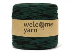 Grande bobine de fil trapilho - motifs verts et noirs Welcome Yarn - 1