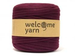 Grande bobine de fil trapilho - lie de vin Welcome Yarn - 1