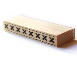 Tampon bordures - Croix