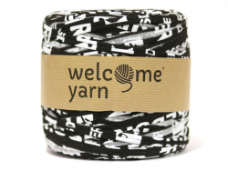 Grande bobine de fil trapilho - Motifs noirs et blancs Welcome Yarn - 1