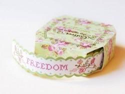Ruban du couturier - Etiquettes autocollantes - Freedom