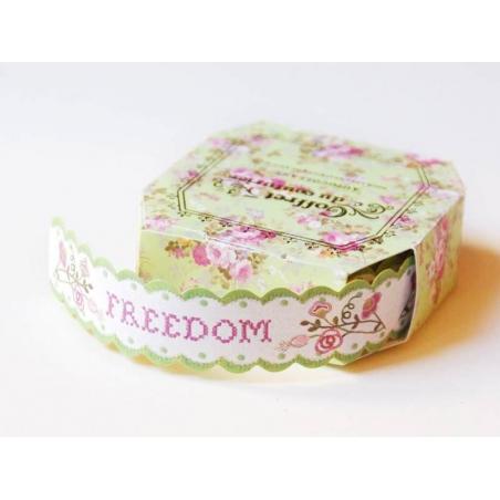 Ruban du couturier - Etiquettes autocollantes - Freedom  - 1
