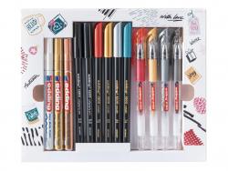 Acheter Boite créative 13 feutres - Seasonal Colouring Set - 19,99€ en ligne sur La Petite Epicerie - Loisirs créatifs