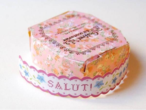 Measuring tape / Sticky labels - Salut
