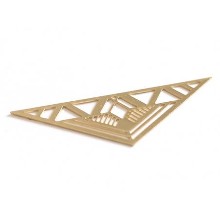 Acheter Pendentif MAÏA - doré à l'or fin 24K - 3,69€ en ligne sur La Petite Epicerie - 100% Loisirs créatifs