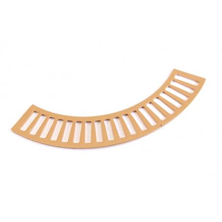 Acheter Pendentif arrondi pour tissage miyuki - doré à l'or fin 24K - 3,29€ en ligne sur La Petite Epicerie - 100% Loisirs c...