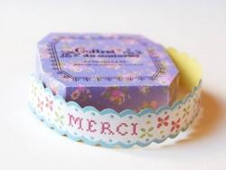 Measuring tape / Sticky labels - Merci