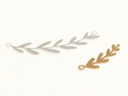Acheter Pendentif branche 8 feuilles - plaqué argent 925 - 0,99€ en ligne sur La Petite Epicerie - 100% Loisirs créatifs