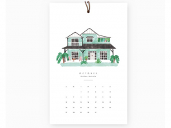 Calendrier 2019 - Dream Homes