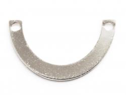 Acheter Petit connecteur demi cercle - plaqué argent 925 - 0,99€ en ligne sur La Petite Epicerie - 100% Loisirs créatifs