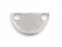 Acheter Pendentif petit fanion arrondi - plaqué argent 925 - 0,99€ en ligne sur La Petite Epicerie - 100% Loisirs créatifs