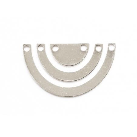 Acheter Connecteur demi cercle - flash argent 925 - 1,19€ en ligne sur La Petite Epicerie - Loisirs créatifs