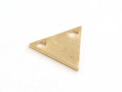 Acheter Pendentif petit triangle - doré à l'or fin 24K - 1,99€ en ligne sur La Petite Epicerie - 100% Loisirs créatifs
