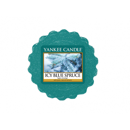 acheter bougie yankee candle icy blue spruce sapin enneig tartelette de cire en ligne