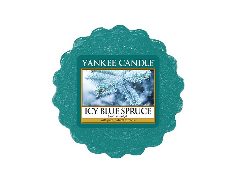 Acheter Bougie Yankee Candle - Icy Blue Spruce / Sapin enneigé - Tartelette de cire - 2,29€ en ligne sur La Petite Epicerie ...