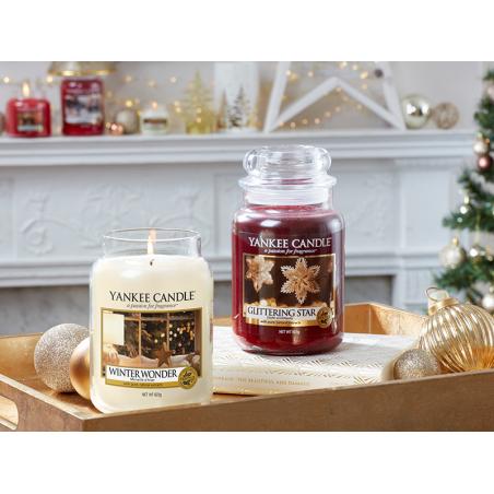 Acheter Bougie Yankee Candle - Glittering Star / Etoile scintillante - Tartelette de cire - 2,29€ en ligne sur La Petite Epi...