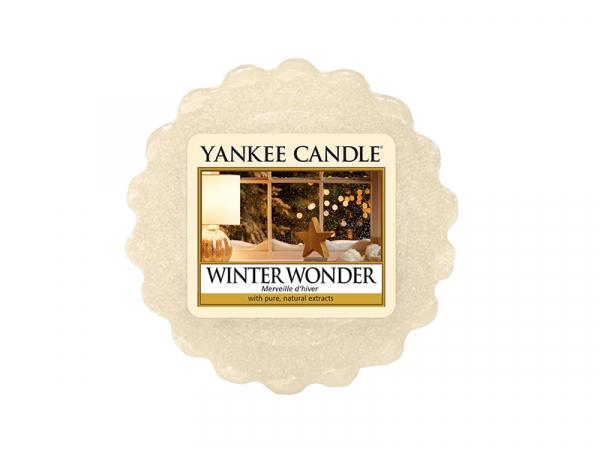 acheter bougie yankee candle winter wonder merveille d 39 hiver tartelette de cire en ligne