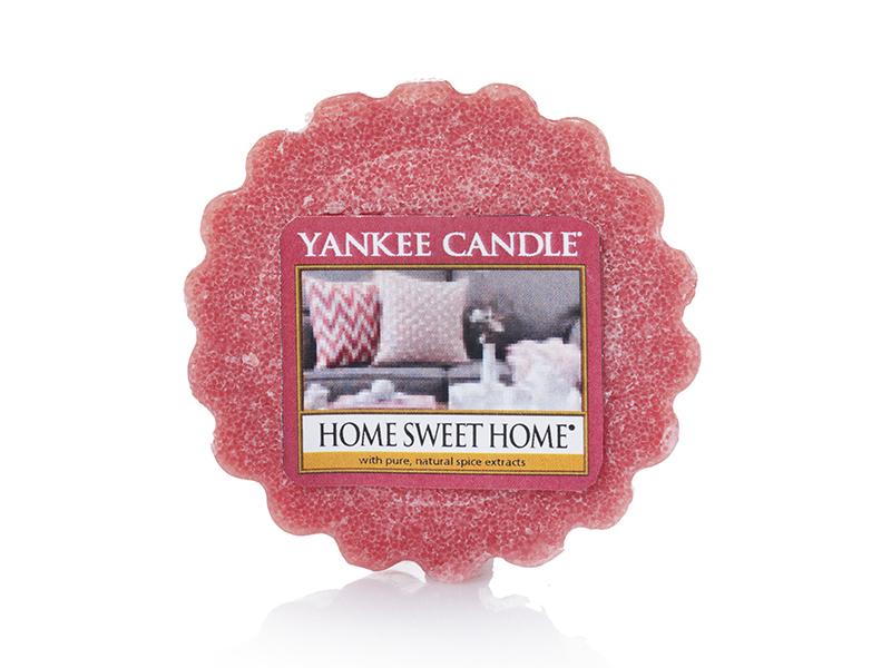 Acheter Bougie Yankee Candle - Home sweet home / Douceur du foyer - Tartelette de cire - 2,29€ en ligne sur La Petite Epicer...