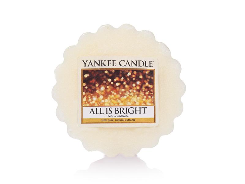 acheter bougie yankee candle all is bright f te scintillante tartelette de cire en ligne