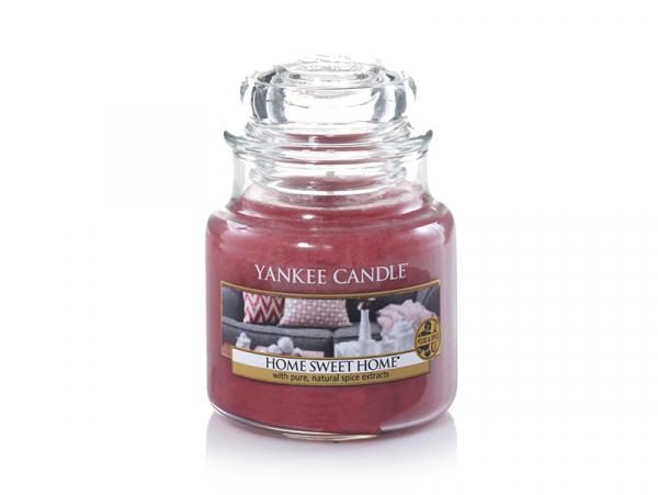 Acheter Bougie Yankee Candle - Home sweet home / Douceur du foyer - Petite Jarre - 11,89€ en ligne sur La Petite Epicerie - ...