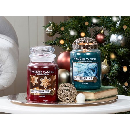 Acheter Bougie Yankee Candle - Glittering Star / Etoile scintillante - Petite Jarre - 11,89€ en ligne sur La Petite Epicerie...