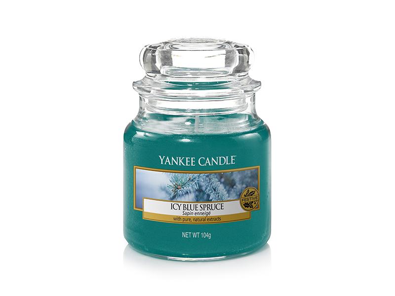 Acheter Bougie Yankee Candle - Icy Blue Spruce / Sapin enneigé - Petite Jarre - 11,89€ en ligne sur La Petite Epicerie - 100...