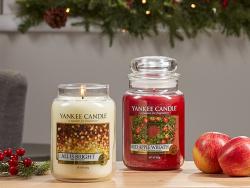 Acheter Bougie Yankee Candle - All is bright / Fête scintillante - Moyenne Jarre - 24,89€ en ligne sur La Petite Epicerie - ...