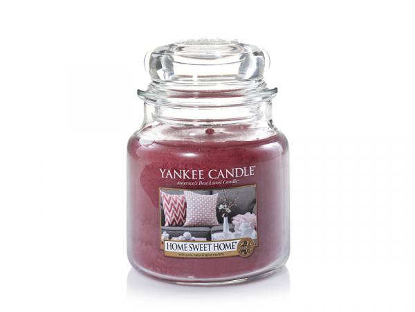 Acheter Bougie Yankee Candle - Home sweet home / Douceur du foyer - Moyenne Jarre - 24,89€ en ligne sur La Petite Epicerie -...