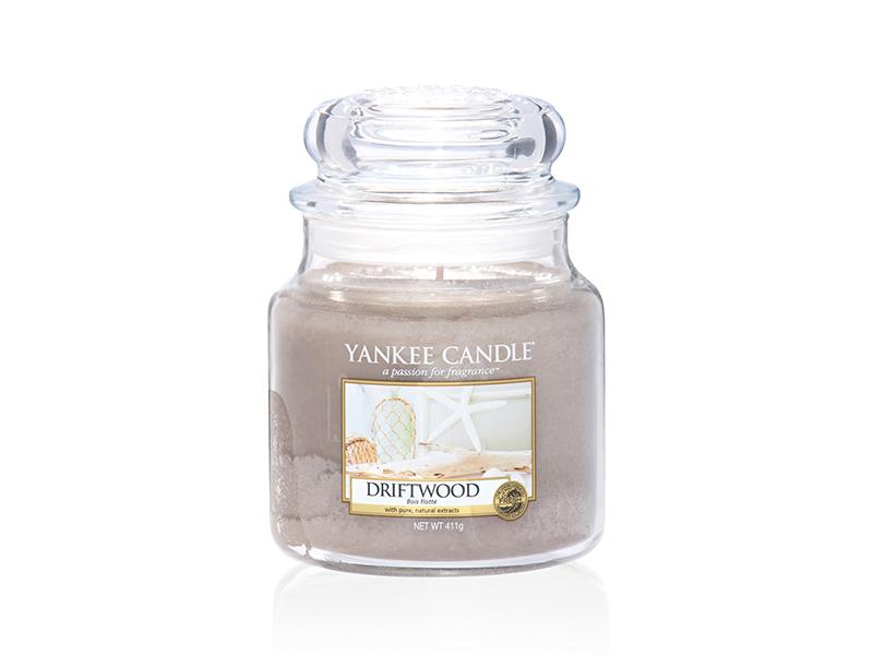 Acheter Bougie Yankee Candle - Driftwood / Bois flotté - Moyenne Jarre - 24,89€ en ligne sur La Petite Epicerie - 100% Loisi...
