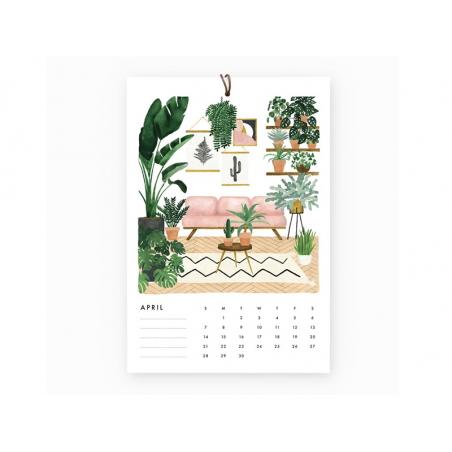 Acheter Calendrier 2019 - Urban Jungle - 22,95€ en ligne sur La Petite Epicerie - 100% Loisirs créatifs