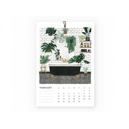 Acheter Calendrier 2019 - Urban Jungle - 22,95€ en ligne sur La Petite Epicerie - Loisirs créatifs