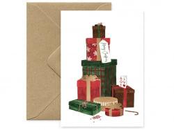 Carte - Cadeaux de Noël