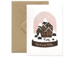 Acheter Carte - Boule de neige - 3,49€ en ligne sur La Petite Epicerie - Loisirs créatifs
